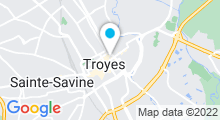 Plan Carte Spa Le Charme Féminin à Troyes