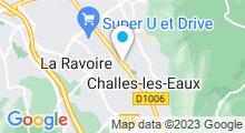 Plan Carte Spa Rituels Soins et Beauté à Challes-les-Eaux
