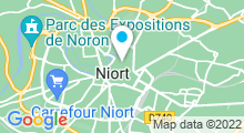 Plan Carte Spa Anika Beauté à Niort