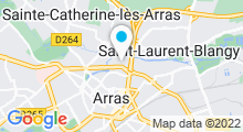 Plan Carte Spa Océane à Arras