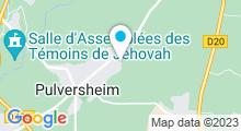 Plan Carte Spa Elle se relax' à Pulversheim