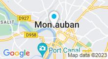 Plan Carte Spa des Capucins à Montauban