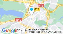 Plan Carte Spa Asience à Montigny le Bretonneux