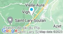 Plan Carte Thermes à Saint-Lary-Soulan