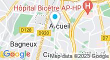 "Plan Carte Spa ""Aqua Spa Sun"" à Arcueil"