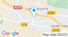 Plan Carte Le Spâ à La Crau