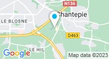 Plan Carte Spa urbain Passage Bleu à Chantepie
