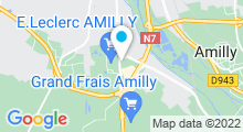 Plan Carte Spa urbain Passage Bleu à Amilly