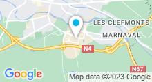 Plan Carte Spa urbain Passage Bleu à Saint-Dizier