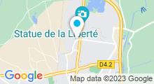 Plan Carte Spa urbain Passage Bleu à Colmar