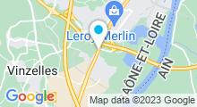 Plan Carte Spa urbain Passage Bleu à Varennes-lès-Macon
