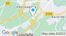 Plan Carte Spa urbain Passage Bleu à Poitiers