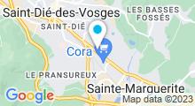Plan Carte Spa urbain Passage Bleu à Sainte Marguerite