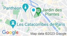 Plan Carte Hammam & spa de La Mosquée de Paris à Paris (5ème)