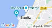 Plan Carte Spa Impérial à Biarritz