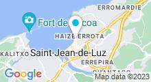 Plan Carte Thalasso et spa Loreamar à Saint Jean de Luz