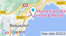 Plan Carte Spa Cinq Mondes à Monaco