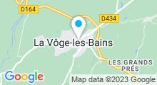 Plan Carte Thermes à Bains-les-Bains