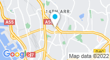 Plan Carte Hammam Dauphin à Marseille (14ème)