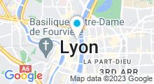 Plan Carte Hammam & spa La 7ème Source à Lyon