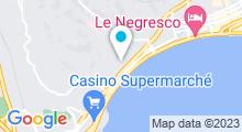 Plan Carte Hammam & spa Nyrvana à Nice