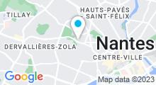 Plan Carte Hammam & spa Terranga à Nantes