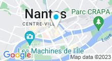 Plan Carte Remise en forme aquatique et spa Aquaforme à Nantes