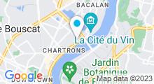 Plan Carte Spa du Seeko'o Hôtel à Bordeaux