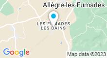 Plan Carte Thermes aux Fumades