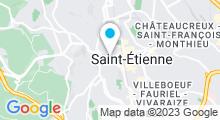 Plan Carte Hammam & spa Palais du Bien-Être à Saint-Etienne