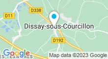 Plan Carte Spa de L'Huilerie à Dissay-sous-Courcillon