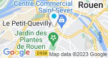 Plan Carte Hammam & spa Détente d'Orient à Rouen