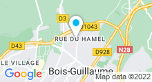 Plan Carte Hammam & spa Cocooning à Bois-Guillaume