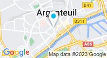 Plan Carte Hammam Zine à Argenteuil