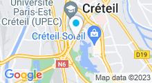 Plan Carte Hammam & spa L'Olivier à Créteil