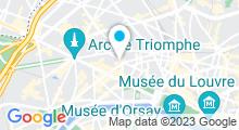 Plan Carte Spa du Rochester Champs Elysées à Paris (8ème)