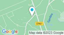Plan Carte Spa privatif Bleu Lagon à Pont-sur-Sambre