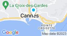 Plan Carte Spa Le Centre Croisette à Cannes