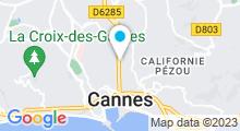 Plan Carte Spa Espace Renaissance à Cannes