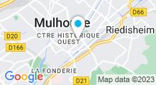 Plan Carte Centre de relaxation Relax and Go à Mulhouse