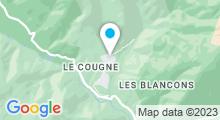 Plan Carte Thermes à Berthemont-les-Bains