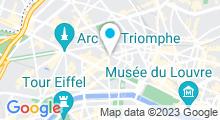Plan Carte L'Espace Champs Elysées à Paris (8ème)