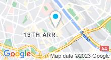 Plan Carte Institut & spa Abricotine à Paris (13ème)