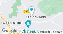 Plan Carte Thermes à Camoins-les-Bains