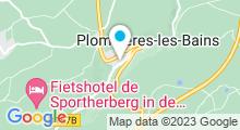 Plan Carte Thermes à Plombières-les-Bains
