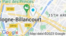 Plan Carte Centre aquabike & spa Secret Training à Paris (16ème)