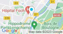 Plan Carte Centre Waterbike à Suresnes