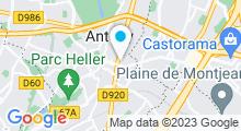 Plan Carte Alize's Institute à Antony