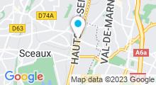 Plan Carte So Beauty à Bourg-la-Reine