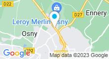 Plan Carte Centre aquabike & spa Gymspa à Osny